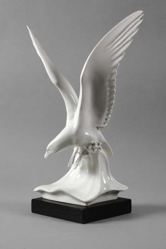 """Meissen """"Seagull on wave"""" - photo 3"""