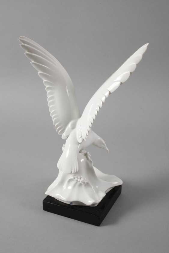 """Meissen """"Seagull on wave"""" - photo 4"""