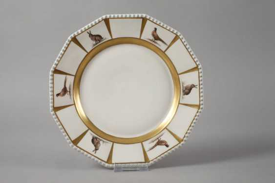 Nymphenburg two plates with hunting motif - photo 2