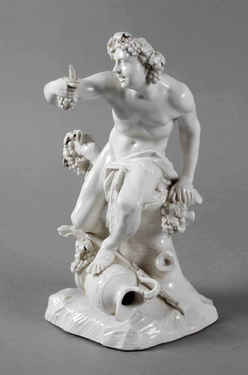 Nymphenburg Bacchus as an allegory of autumn - photo 1