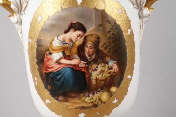 """Rosenthal Prunkvase """"La Traubenverkäufer"""" - photo 2"""