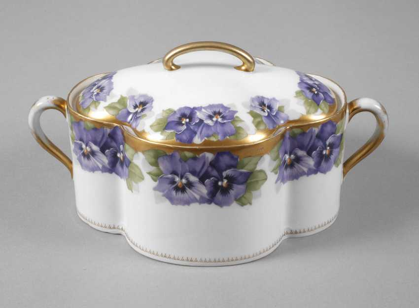 "Rosenthal Sugar Bowl ""Viktoria Luise"" - photo 1"