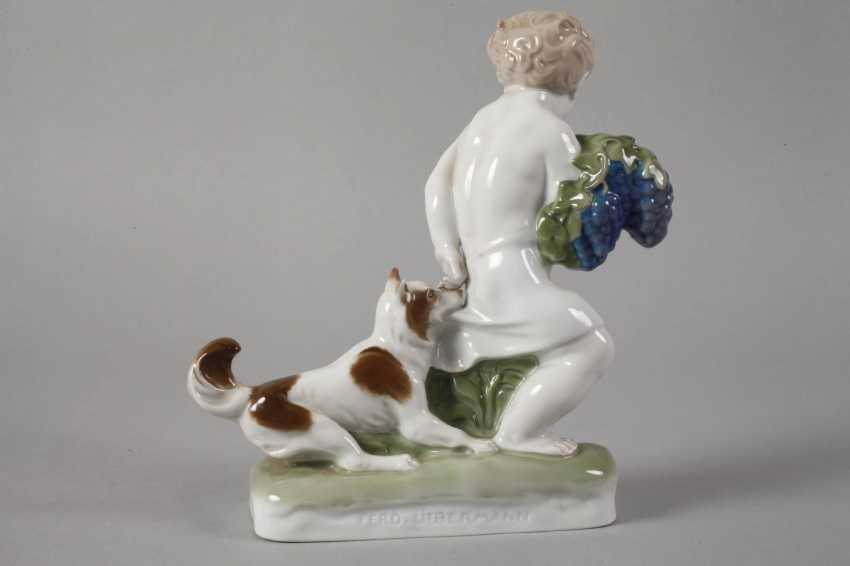 """Rosenthal Putto """"Caught"""" - photo 3"""