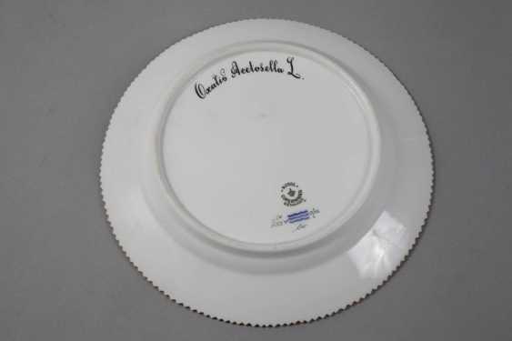 "Royal Copenhagen Breakfast Plates Of ""Flora Danica"" - photo 2"