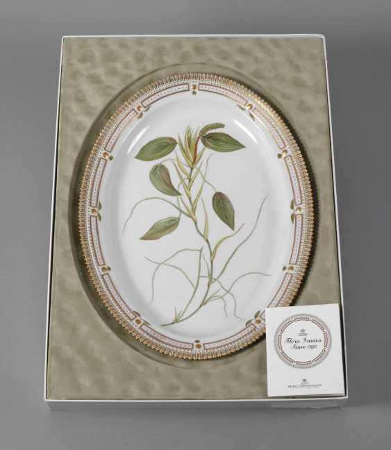 "Royal Copenhagen Platte ""Flora Danica"" in Karton - photo 1"