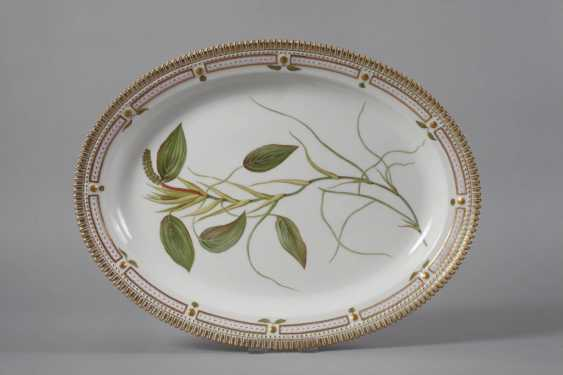 "Royal Copenhagen Platte ""Flora Danica"" in Karton - photo 2"