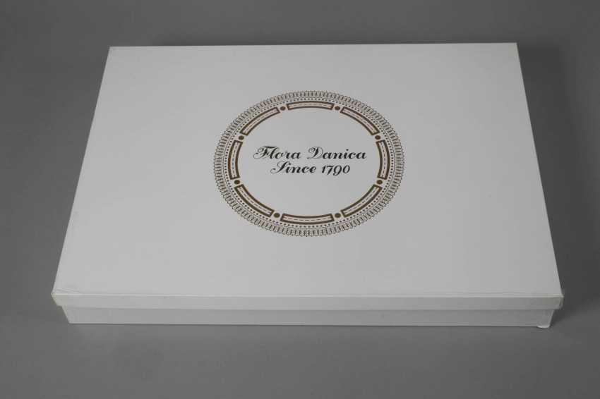 "Royal Copenhagen Platte ""Flora Danica"" in Karton - photo 6"
