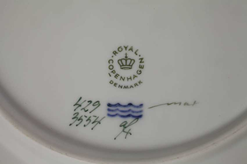 Royal Copenhagen, dinner plate Flora Danica - photo 3