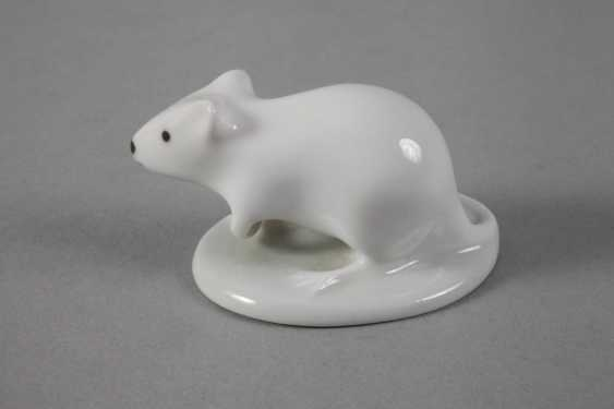 Royal Dux Bohemia Mouse - photo 3