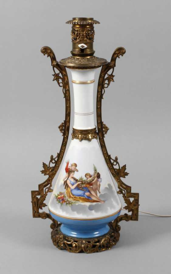 Great lamp with cupids - photo 1
