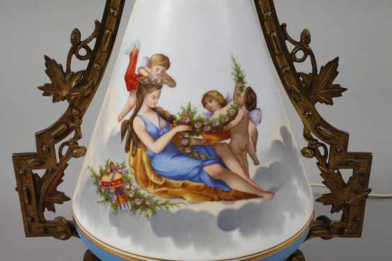 Great lamp with cupids - photo 2