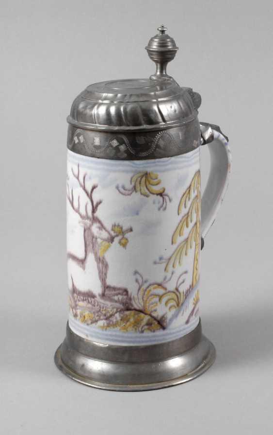Thuringian Faience-Roll Mug - photo 1