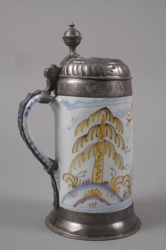 Thuringian Faience-Roll Mug - photo 2
