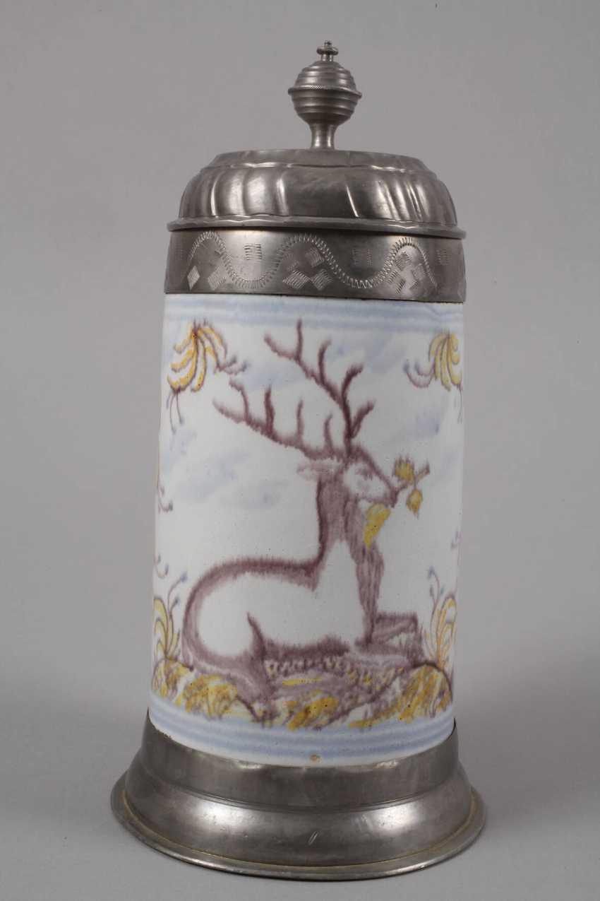 Thuringian Faience-Roll Mug - photo 3