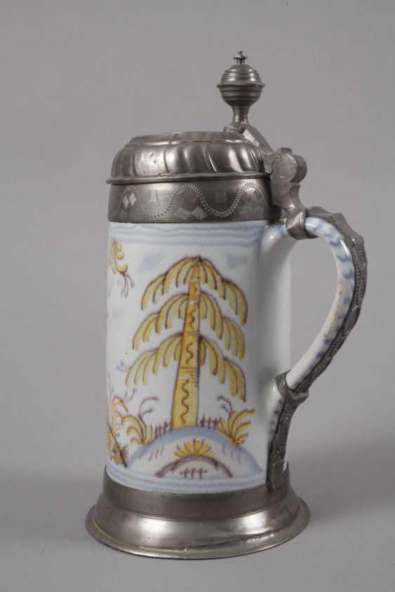 Thuringian Faience-Roll Mug - photo 4