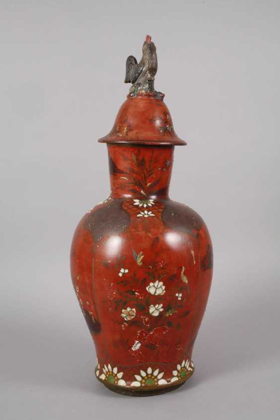 Berlin lacquer vase with Chinoiserien - photo 5