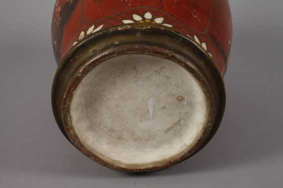 Berlin lacquer vase with Chinoiserien - photo 6