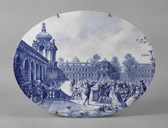 Ceramic Plate, Dresdner Zwinger - photo 1