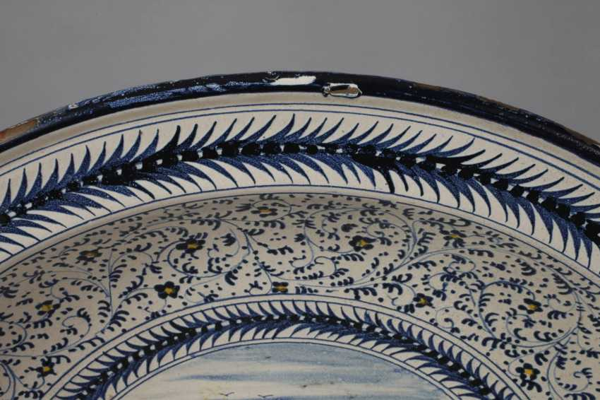 Large Delft Faience Bowl - photo 3