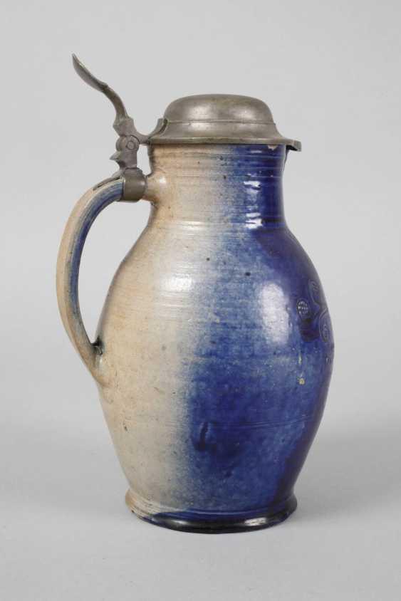 Blue apron jug 1746 - photo 2
