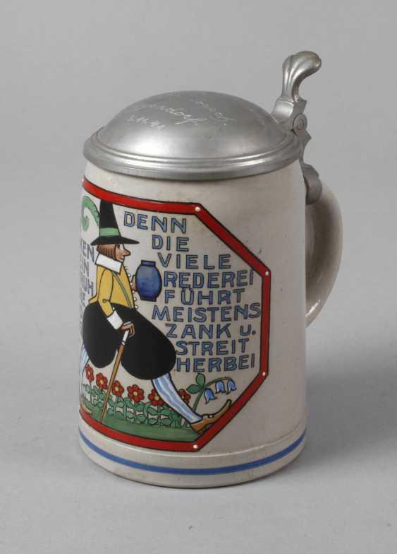 Karikativer Beer Mug - photo 1