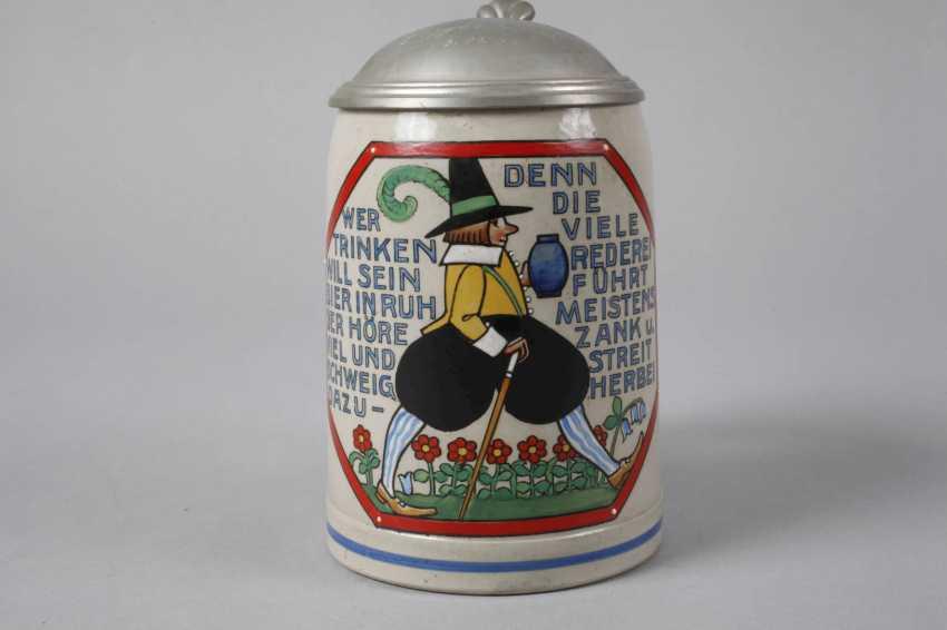 Karikativer Beer Mug - photo 2