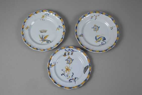 Émile Gallé six dinner plates - photo 2