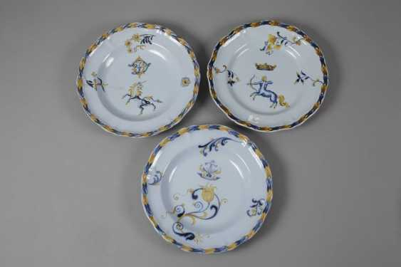 Émile Gallé six dinner plates - photo 3