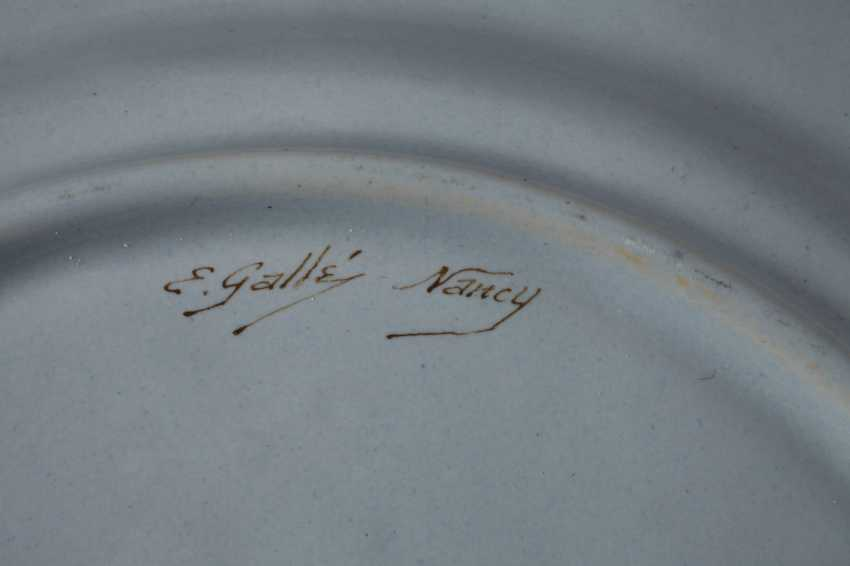 Émile Gallé six dinner plates - photo 5