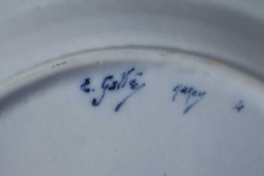 Émile Gallé six dinner plates - photo 6