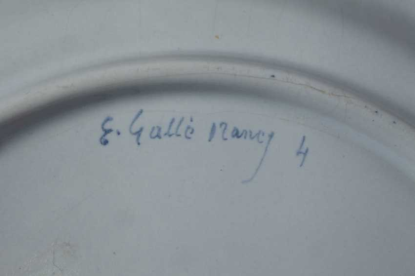 Émile Gallé six dinner plates - photo 8