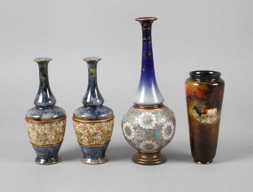 Four Vases Royal Doulton - photo 1
