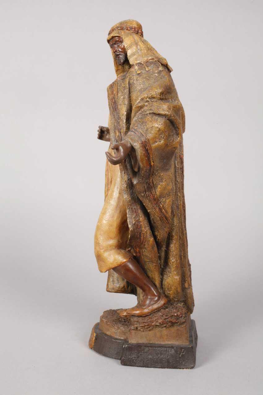 Goldscheider Of Vienna, Egyptian Warrior - photo 5