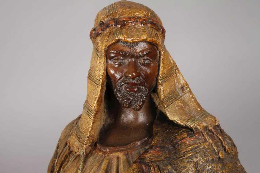Goldscheider Of Vienna, Egyptian Warrior - photo 8