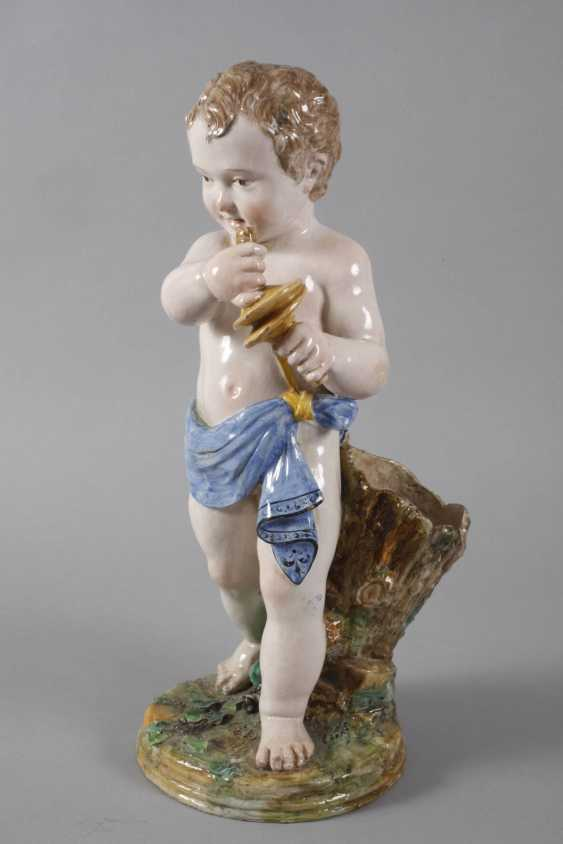 Large Putto with Clamps - photo 2