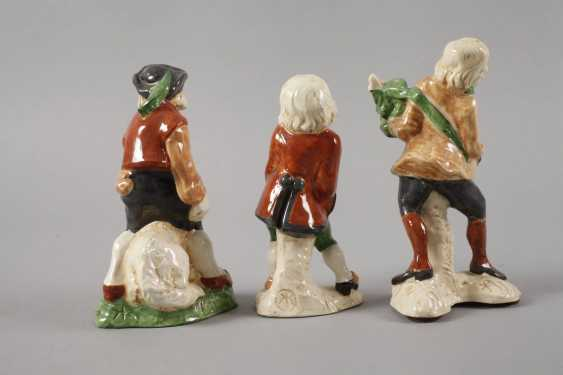 Karlsruhe three ceramic figurines - photo 2