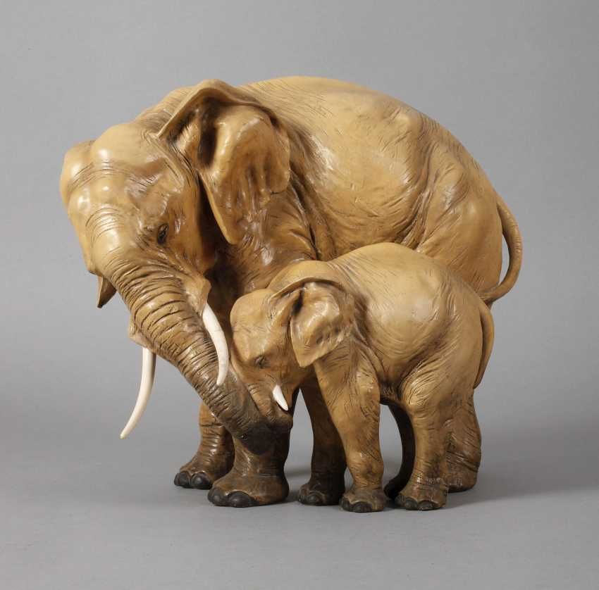 Слоны пара - фото 1