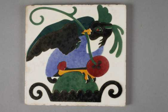 Meissen Teichert two tiles with bird motifs - photo 2