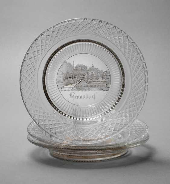 Three Souvenir Plates Biedermeier - photo 1