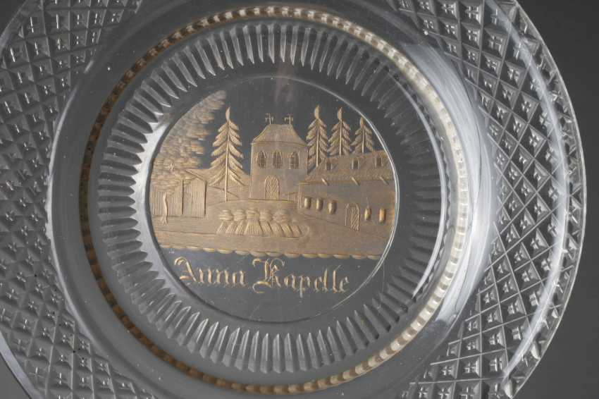 Three Souvenir Plates Biedermeier - photo 2