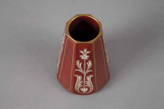 Friedrich Egermann small stone glass vase - photo 2