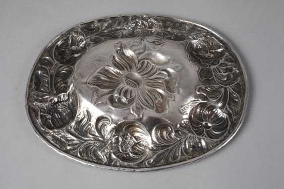 Silver Baroque display plate - photo 2