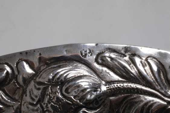Silver Baroque display plate - photo 3
