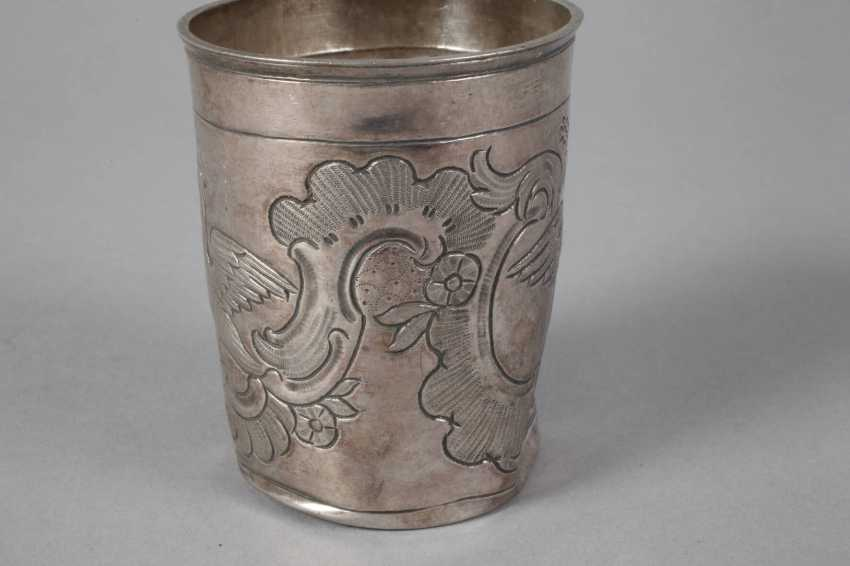 Russia Silver Beakers 1764 - photo 3