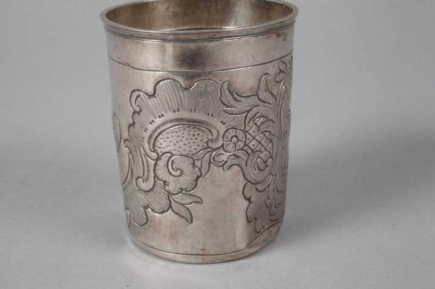 Russia Silver Beakers 1764 - photo 5