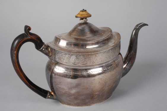 England silver pot and handle bowl - photo 2