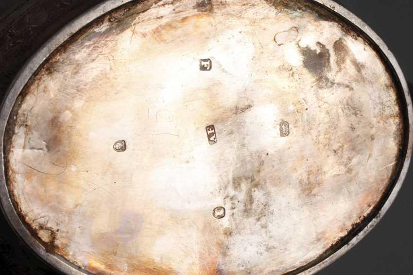 England silver pot and handle bowl - photo 3