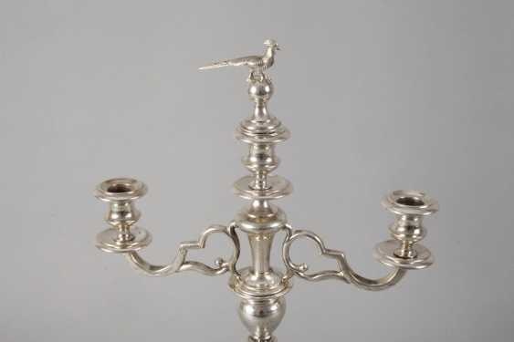 Large Viennese Silver Chandelier - photo 2