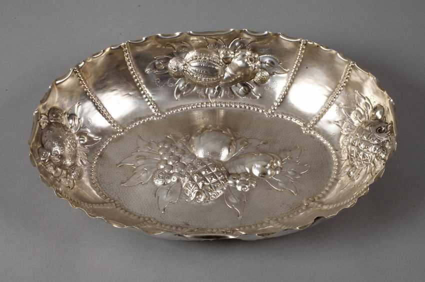 Silberschale dans le style Baroque - photo 1
