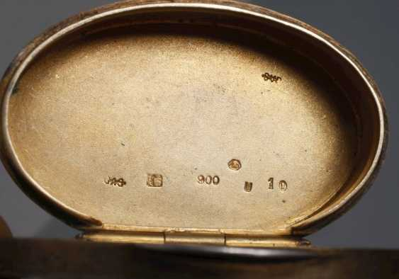 Vienna small pill box enamel decor - photo 4